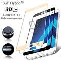 9 H Закаленное Стекло-Экран Протектор Для Samsung Galaxy A3 A5 A7 2017 A320F A520F A720F A500 Полное Покрытие Colorful Защитный фильм