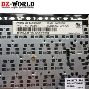 Image 3 - Nieuwe Originele US Engels Toetsenbord voor Lenovo Thinkpad E450 E450C E455 E460 E465 Teclado 04X6101 04X6101 04X6141 SN20E66101