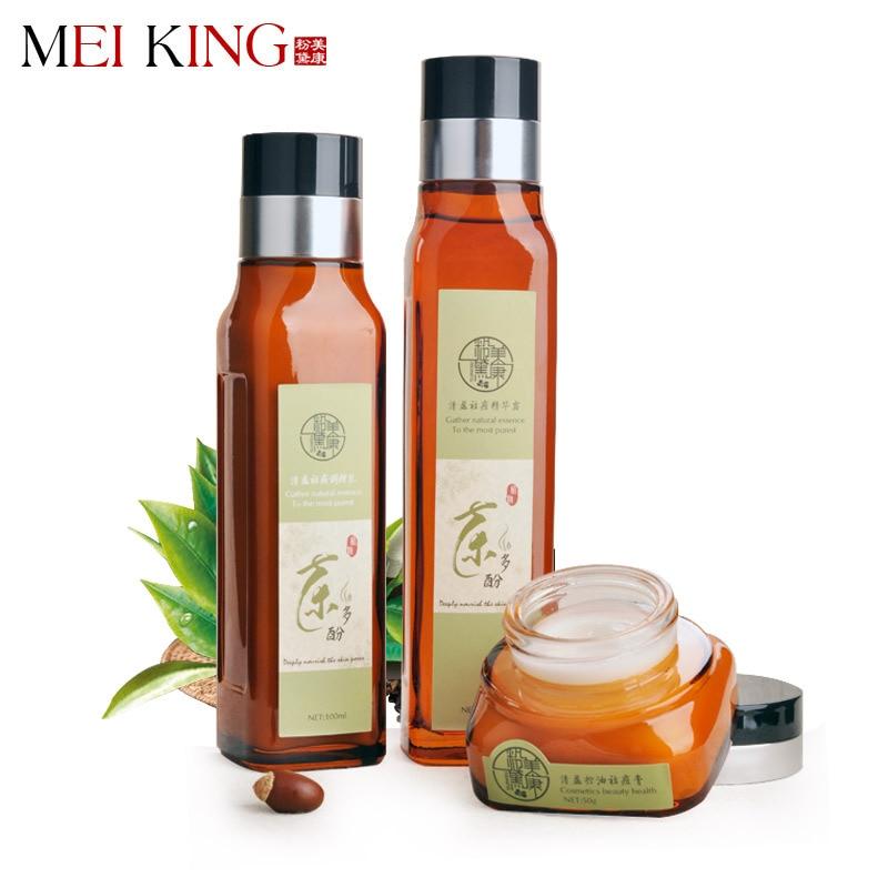 ФОТО MEIKING Skin Care set Skincare Remove Acne Whitening Moisturizing Toners+Emulsion+Creams Set Anti Acne Cream Set For All Skin