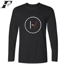 LUCKYFRIDAYF Rock Band Famous Twenty One Pilots 21 Pilots Long Sleeve Shirt Long Sleeve T Shirt Men 21Pilots Clothes Plus Size