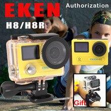 EKEN H8/H8R Ultra HD 4 K WIFI Cámara de Acción 1080 p/60fps 720 P/120FPS Cámara Mini 30 M Impermeable Extrema Del Casco Del Deporte DVR Ir Pro Cam