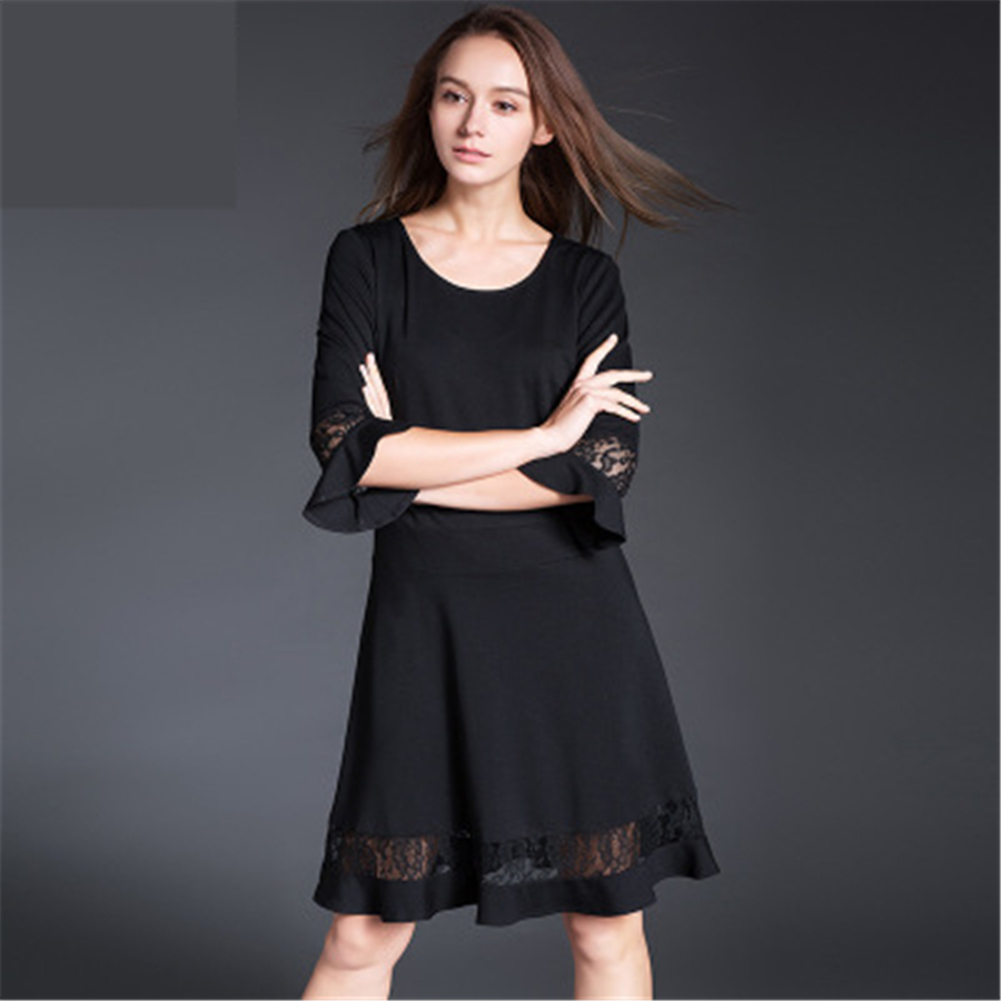 Black long with sleeve maternity loose dresses pregnancy sweater black long with sleeve maternity loose dresses pregnancy sweater dress pregnant vintage springs 2017 fashion 70r0115 in dresses from mother kids on ombrellifo Image collections