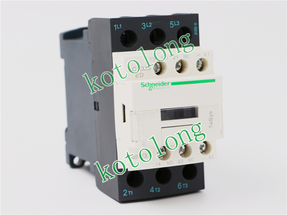 DC Contactor LC1D25 LC1-D25 LC1D25ED 48VDC LC1D25FD 110V LC1D25G7 125VDC LC1D25J7 12VDC tesys k reversing contactor 3p 3no dc lp2k1201ed lp2 k1201ed 12a 48vdc lp2k1201fd lp2 k1201fd 12a 110vdc coil