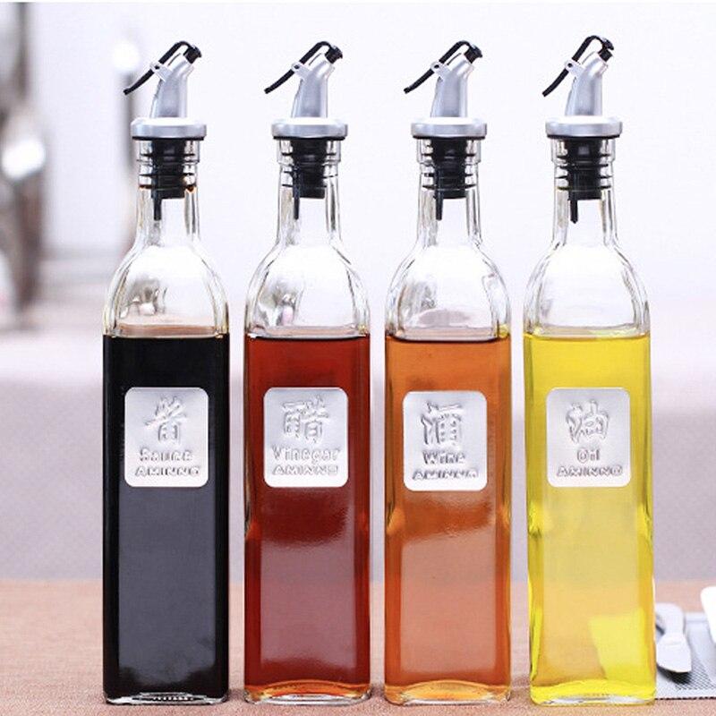 cooking seasoning bottle dispenser sauce bottle glass. Black Bedroom Furniture Sets. Home Design Ideas