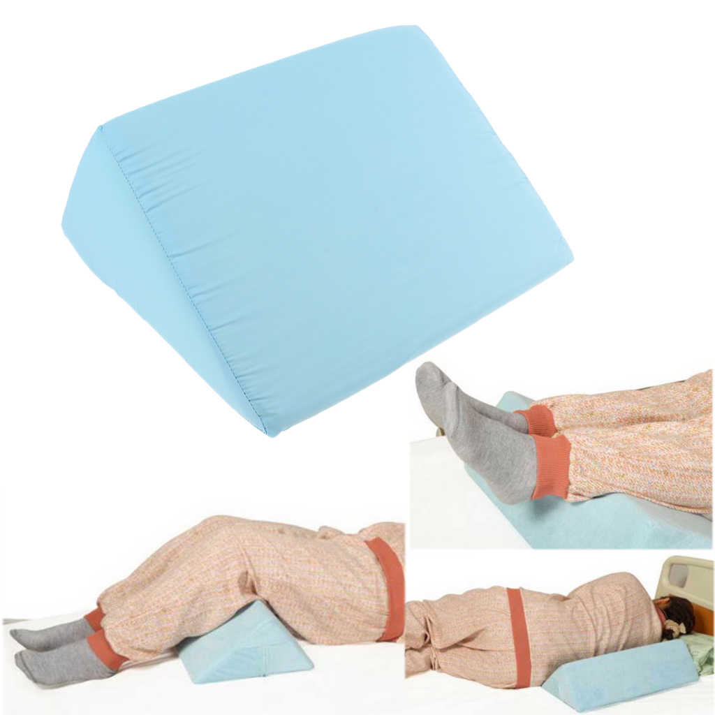 acid reflux anti bedsore foam bed wedge pillow foot leg elevation cushion lumbar support pad with removable cover