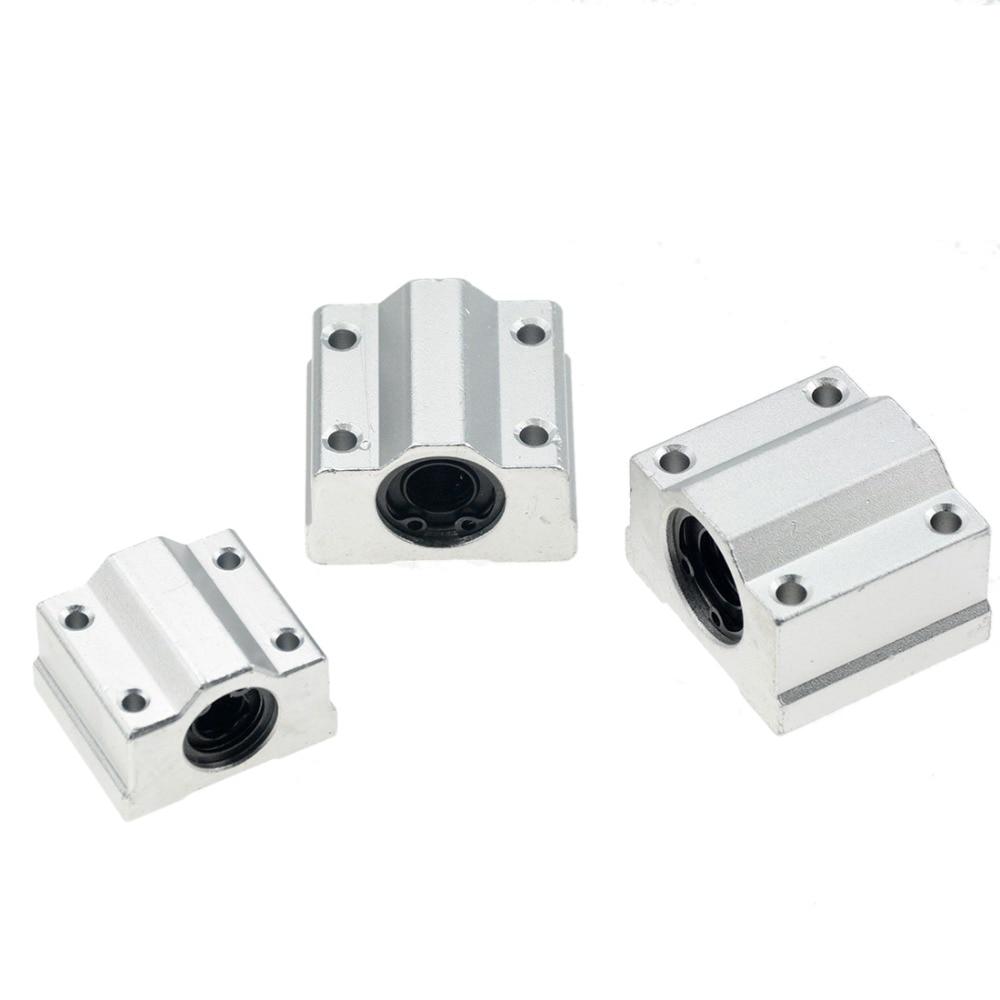 10pcs LMH8UU 8mm H Flange Linear Bearing Ball Bushing 8x15x24mm CNC Parts