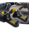 2 unids Styling Car Asiento Trasero Pothook Para Alfa Romeo 147 156 159 166 Fiat 500 Punto Bravo Cayenne Porsche Macan Accesorios Mito