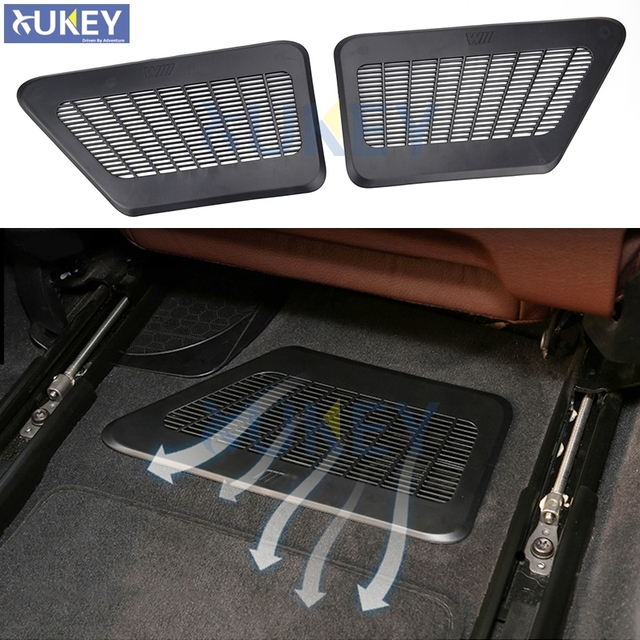 Under Seat Floor Air Vent Cover For 2009 2016 Bmw 5 7 Series A