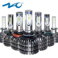 NAO H4 LED Headlights H7 led Bulb H11 Auto Lamp H8 H9 H1 HB3 9005 HB4 9006 9003 HB2 Hi Lo 25W 3000LM 12V 24V 6000K White V5