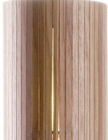 6*Dia 25xH45cm in one ceiling base , wood color chandelier