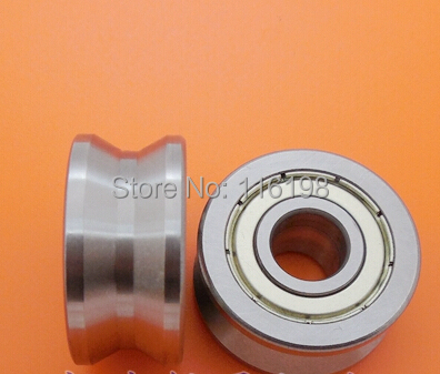 LV20/10 V groove deep groove ball bearing 10x30x14mm Traces walking guide rail bearings ABEC5 цены онлайн