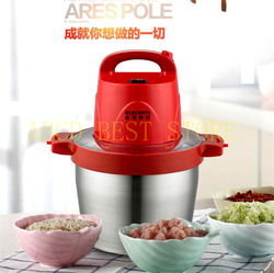 free air ship to houese Commercial Meat Machine Electric Vertical Single Cut Slicer Thicker Stainless Steel Cut Meat Grinder