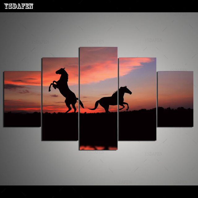 HD Printed Painting Canvas Printing Horse painting Room decor print poster picture canvas Framed Art HG-167