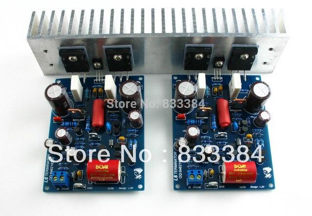 Ljm L6 Power Amplifier Kit Diy Amp Kit Free Shiping In Contactors