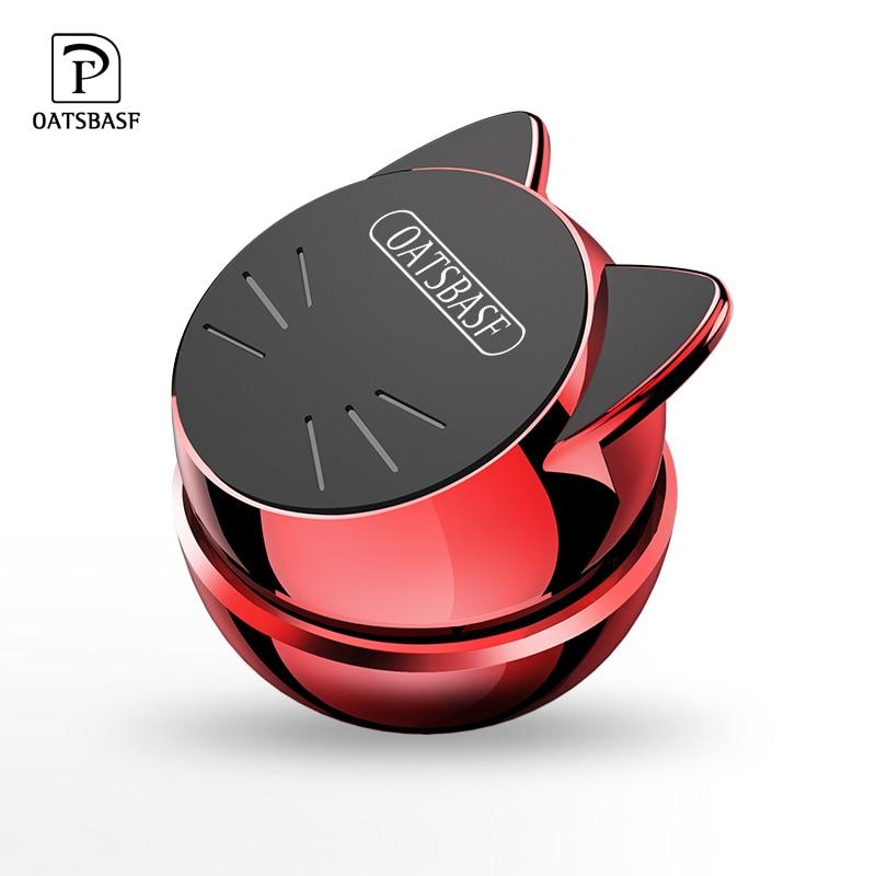 OATSBASF Universal Auto Telefon Halter 360 Grad GPS Magnetische Handy Halter für Xiaomi Redmi Hinweis 7 Magnet Halterung stehen