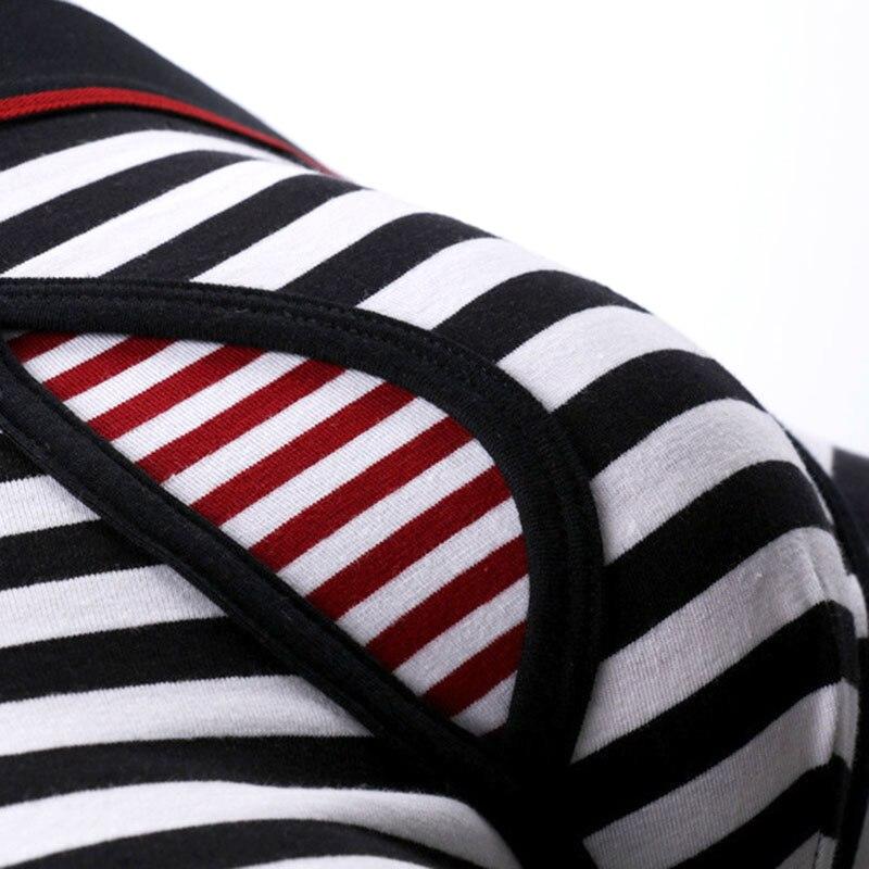 2 Pack Cotton men 39 s underwear striped Super Big size 6XL Plus long boxer soft elastic comfortble male boxer shorts underwears in Boxers from Underwear amp Sleepwears