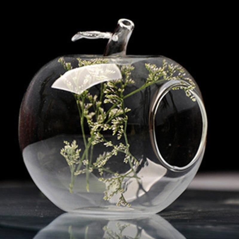 achetez en gros verre apple vase en ligne des grossistes verre apple vase chinois aliexpress. Black Bedroom Furniture Sets. Home Design Ideas