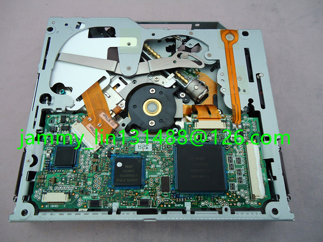 DV33M32A alpine DVD navigasi loader mekanisme drive DV33M01B DV36M110 untuk RNS-E E70 A3 A4 DITAMBAH PETA mobil DVD audio GPS