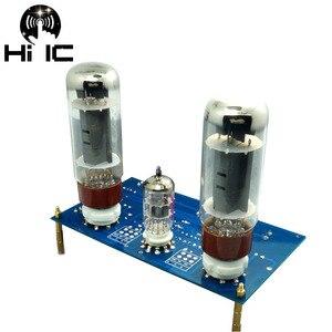 Image 2 - 10W+10W EL34 Single ended Class A Stereo Amplifier Tube Amplifier Board DIY Kit