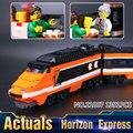 Nueva serie horizon lepin 21007 1351 unids creador expresa modelo kit de construcción de bloques de ladrillos compatibles juguete de los niños 10233