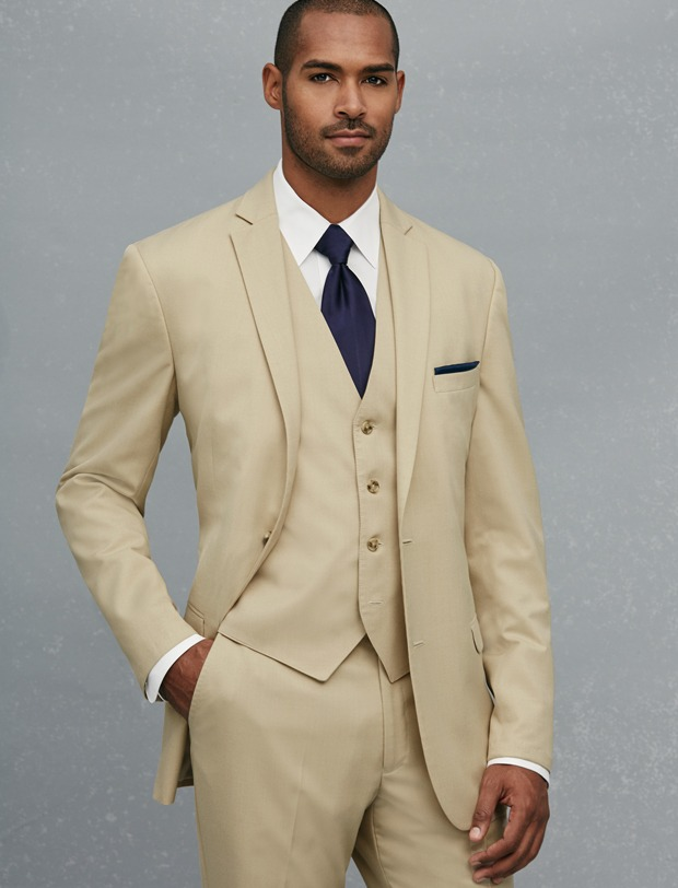 Beige Suits For Prom | My Dress Tip