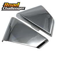 Classic Chrome Battery Side Fairing Cover Guard Protect For Yamaha Star Virago XV250 125