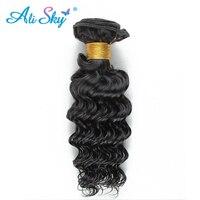 Ali Sky Deep Curly Weave Human Hair Vendors 1 Bundle 8 26 Virgin Brazilian Hair Extensions
