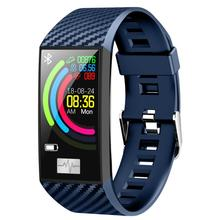 New product DT58 smart watch 1.14 big screen Bluetooth blood pressure ECG heart rate sleep monitoring waterproof sports bracelet