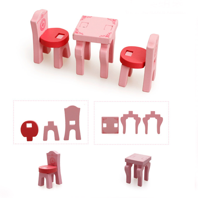 3D Assembled Music Living Room Baby Assembling Puzzle Puzzle ...
