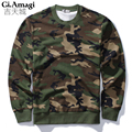 2016 New Autumn Sweatshirt Men Fashion Camouflage Hoodie Mens Hip Hop Pullover Men's Tracksuits NYW015