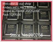 50 stks/partij XC3S500E 4VQG100C XC3S500E 4VQ100C XC3S500E XC3S500 QFP100