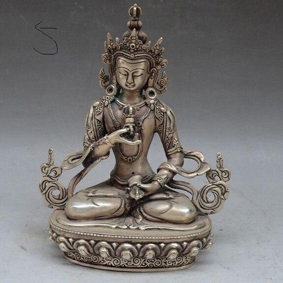Collection de sculpture en bronze sculpture en argent plaqué statue de Shakya Mani Bodhisattva népal statue de Tara livraison gratuite