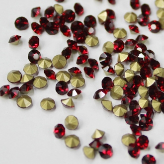 Ss11.5-ss25 Siam Color Pointback Rhinestones Glass Material Beads Used For Jewelry Nail Art Decoration ss11 5 ss25 siam color pointback rhinestones glass material beads used for jewelry nail art decoration