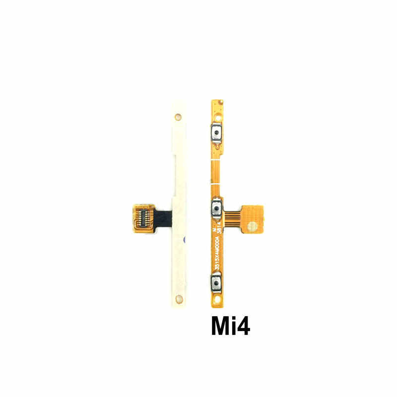 New Power on/off & volume up/down buttons flex cable Replacement for Xiaomi Mi4 Mi4C Mi4i Mi4S phone