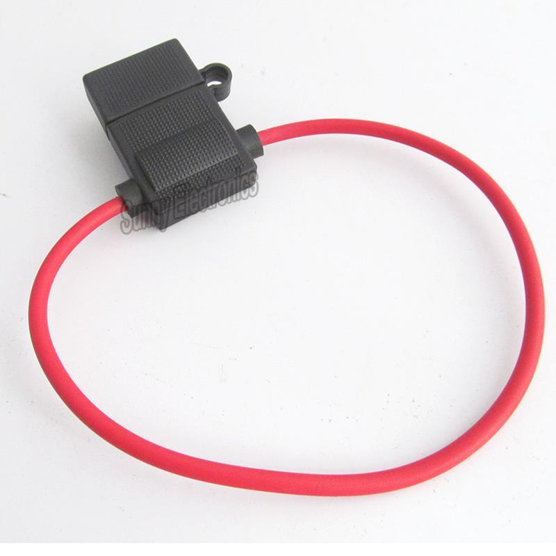 5X In-line inline Fuse Holder ATC// ATO Automotive Waterproof 14 GA Marine Grade