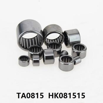 100pcs/lot TA0815 HK081515 Drawn Cup Type Needle Roller Bearing 8x15x15 mm free shipping high quality