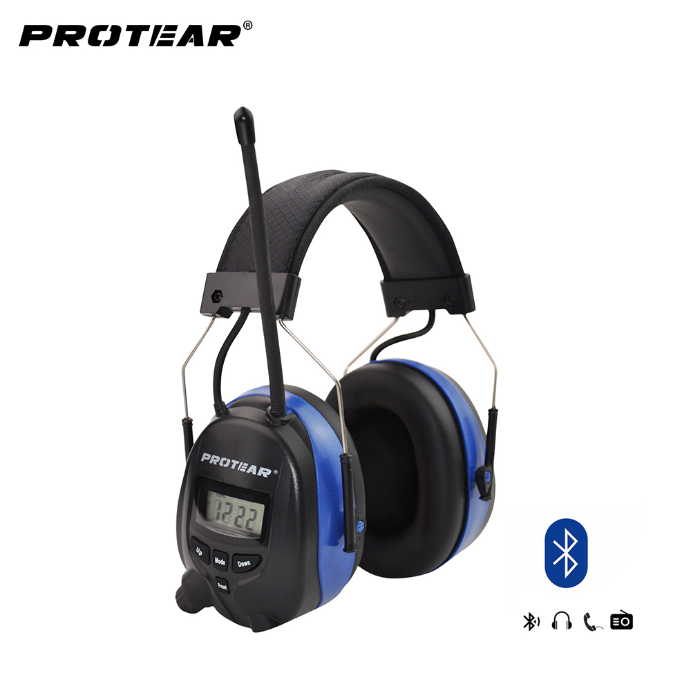 Lithium battery Bluetooth Electronic Shooting Ear muffs Hearing Protection FM/AM Radio Ear Defenders Tactical Protector lithium battery dedicated dual mos protection plate 26650 battery protection plate battery plate plastic base wholesale