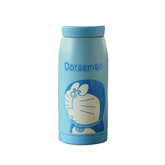 3441d808c0c US $9.99 |Hot 350ML Doraemon Stainless Steel Thermos Mug Vacuum Flask  Bottle Thermal Coffee Cup Travel Mug Insulated Cups Office Vial-in Water  Bottles ...