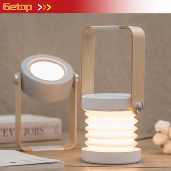 Creative Hand Lantern Night Light 3 Levels Brightness Adjustment Multifunctional Rechargeable LED Lamp Bedside Lamp Fixture