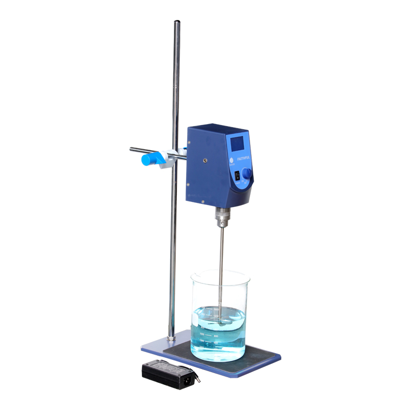 SH-II-6C Laboratory Electric Overhead Stirrer Stir Plate 20L Agitator Hotplate Blender Mixer LCD Digital Control Display sh ii 6 laboratory electric overhead stirrer stir plate agitator blender mixer