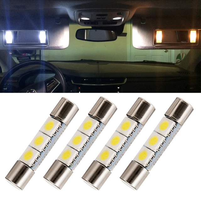 4x 29mm 6614F/6641/6614/F30 WHP/TS 14V1CP LED