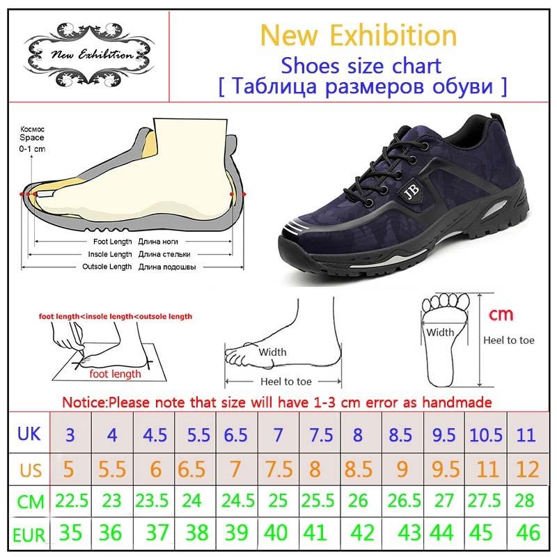 Neue Ausstellung Mode Sicherheitsschuhe Herren Outdoor Stahlkappe Anti Punktierung Stiefel Leichte und atmungsaktive beiläufige Arbeitsschuhe