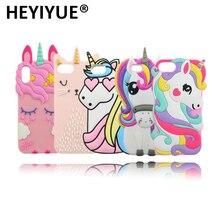 5cf3e6b7c5b De calidad superior de dibujos animados Pony unicornio de la caja del  teléfono celular de silicona para iPhone 7 6 s 6 5S 5 Plus.