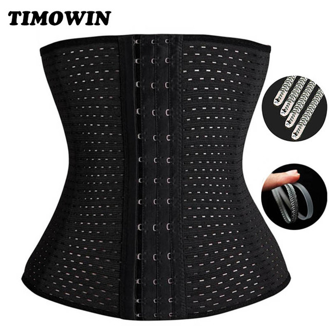 TIMOWIN Hot Shapers Waist Support Trainer Corset Slimming Belt Shaper Body Shaper Simming Modeling Strap Belt Slimming Corset