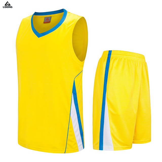 fad84a675d5 2018 New Men Women Uniform Basketball Jersey Sets Pockets Shirts Shorts Breathable  Quickly Dry Sportswear Training Suit Jersey