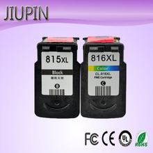 JIUPIN 815 816 Re-Manufactured Ink Cartridge Replacement for Canon PG815 CL816 pg-815 pg cl IP2780 MP236 MP259 MP288