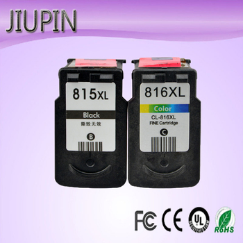 цена на JIUPIN 815 816 Re-Manufactured Ink Cartridge Replacement for Canon PG815 CL816 pg-815 pg 815 cl 816 for IP2780 MP236 MP259 MP288
