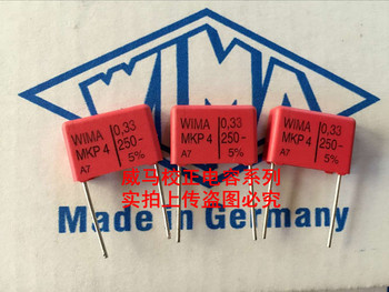 2019 hot sale 10pcs/20pcs Germany WIMA MKP4 250V 0.33UF 250V 334 330n P: 15mm Audio capacitor free shipping