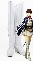 Game Shin Megami Tensei IV Cosplay Long Boots Shoes Custom Made