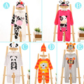 Christmas Gifts Baby rompers 2015 One-piece Costumes kids long sleeve spring autumn baby wear animals clothing set top+ hat